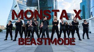 [K-POP IN PUBLIC | ONE TAKE] MONSTA X 몬스타엑스 - BEASTMODE | co…