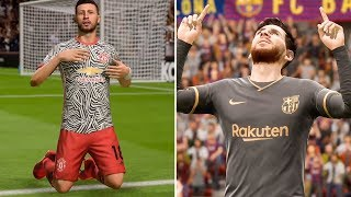 Rumoured New Kits for the 2020-21 Season in FIFA 20