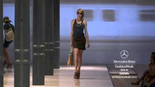 Repeat youtube video DIESEL SPRING/SUMMER 2012 COLLECTION, MERCEDES-BENZ FASHION WEEK