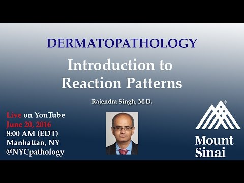 Dermatopathology: Introduction to Reaction Patterns w/ Dr. S