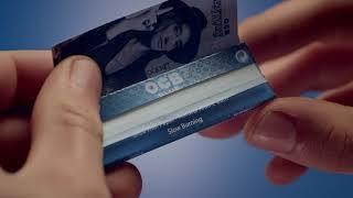 OCB X-Pert Blue single booklet