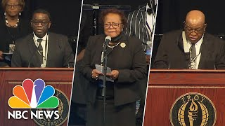 Family Members Honor Rep. John Lewis During Memorial In Alabama | NBC News