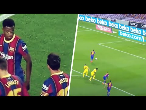Lionel Messi's gesture to Ansu Fati says a lot about who he is as a person | Oh My Goal