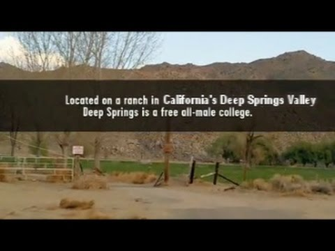 Ivory Tower -- Deep Springs College