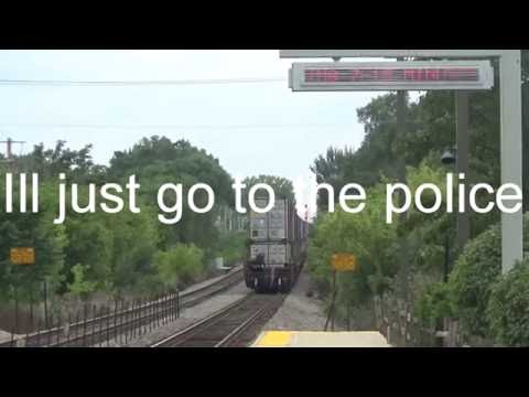 Woman Threatens to Call Police on Railfan