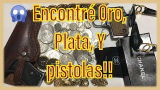 Encontré Pistolas, Oro, Plata, Y Monedas   Almacén Abandonado