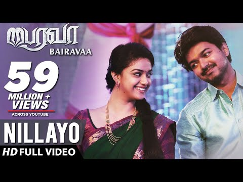 Thumbnail: Nillayo Video Song | Bairavaa Video Songs | Vijay, Keerthy Suresh | Santhosh Narayanan