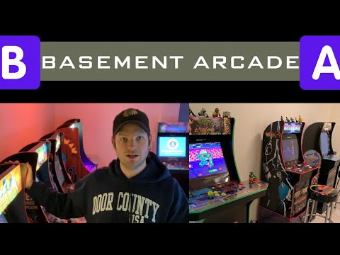 Updates and One Year Recap!  New and Future Arcade1Up Releases Discussed! - The BASEMENT Arcade 😎🕹 from Seaneleous