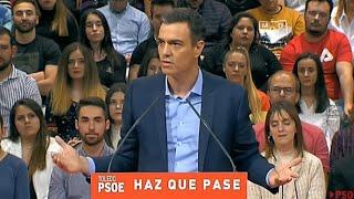 """Sánchez pide """"sumar las voluntades"""" para el PSOE"""