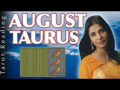 TAURUS  tarot reading forecast AUGUST 2017 horoscope