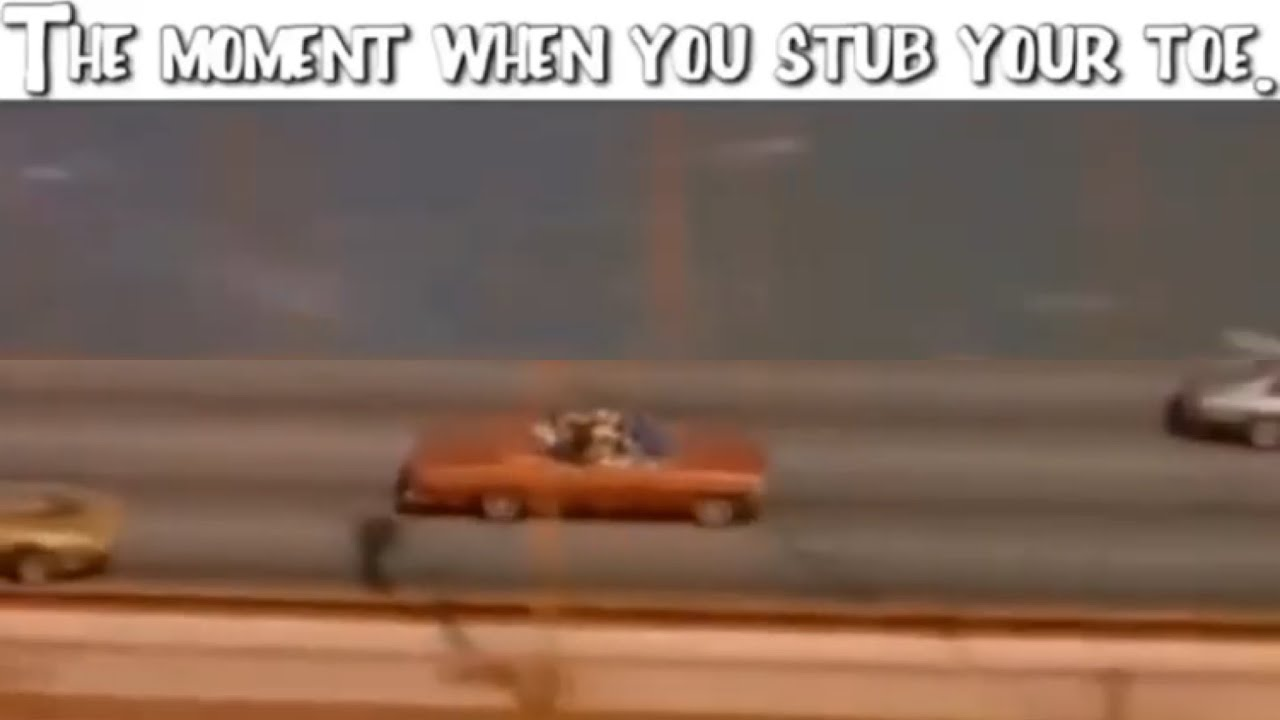 Stubbed Toe Meme