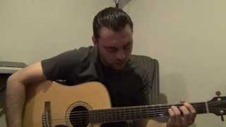 Fine Again / Seether / Cover / J Gramza / Lyrics Below / Acoustic