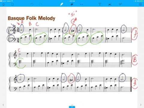 Basque Folk Melody
