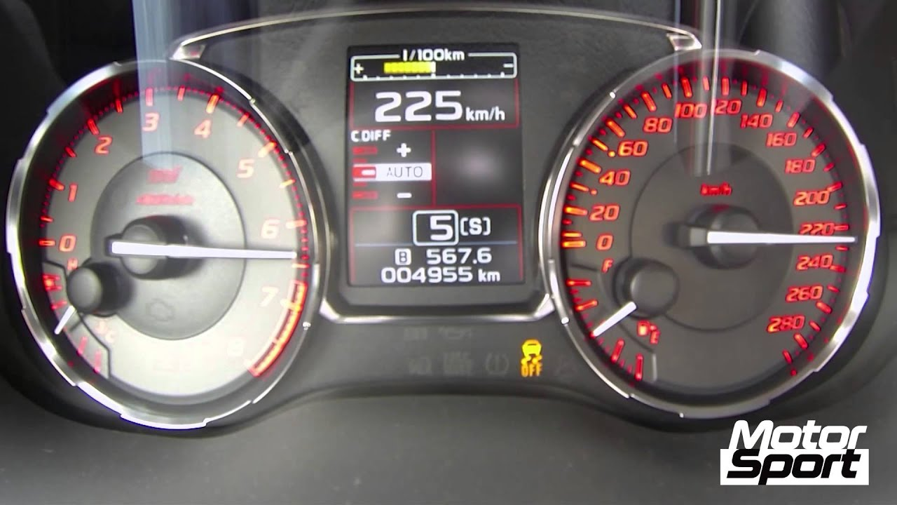 0-250 km/h : Subaru WRX STi S (Motorsport) - clipzui.com