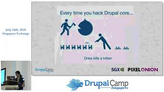 How to start Drupal development for a complete beginner - DrupalCampSG 2018