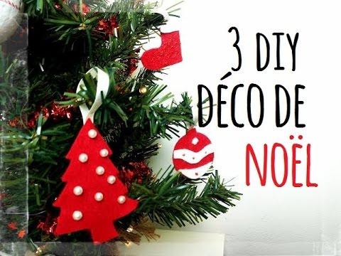 diy nol 3 ides dco pour votre sapin youtube - Idee De Deco Pour Noel