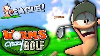 EAGLE - Worms Crazy Golf