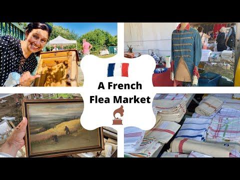 My French Flea Market Haul! (BETH IN FRANCE 🇫🇷 )