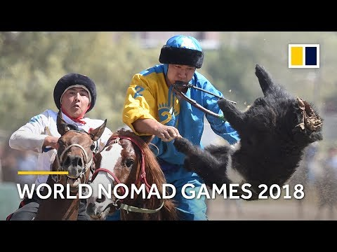 World Nomad Games 2018 kicks off in Kyrgyzstan