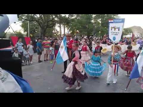 Ballet Panambi vera (Paraguay) desfile en alta gracia 2018