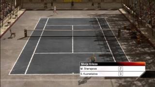 Top Spin 3 - Maria Sharapova vs. Svetlana Kuznetsova