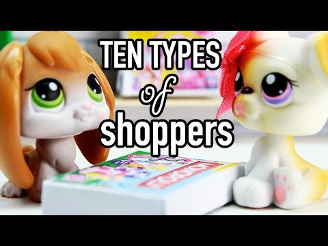 LPS - 10 Types of Shoppers