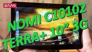 Видео-обзор планшета Nomi C10102 Terra+ 3G