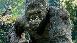 King Kong vs T-Rexes - Fight Scene - Movie CLIP [1080p 60 FPS HD] .by The WILD MonsTers.
