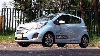 Chevrolet Spark Eléctrico 2015 a prueba