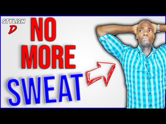 how to stop underarm sweat