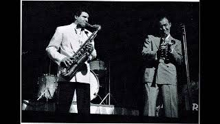 """""""Jersey Bounce"""" (1941) Benny Goodman/Mel Powell, with Vido Musso and Lou McGarity"""