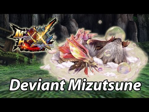 MHXX | G1: First encounter with Heavenly Eye Mizutsune/Tamamitsune