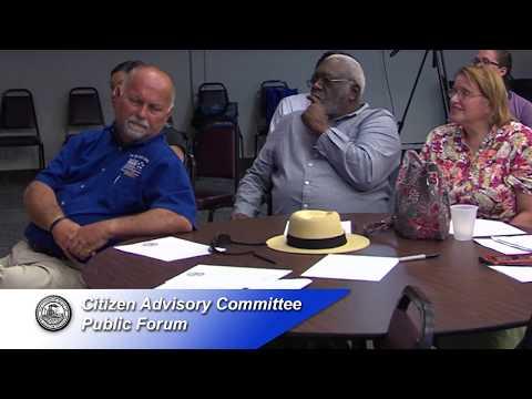 Citizen Advisory Committee - Public Forum - June 27, 2017