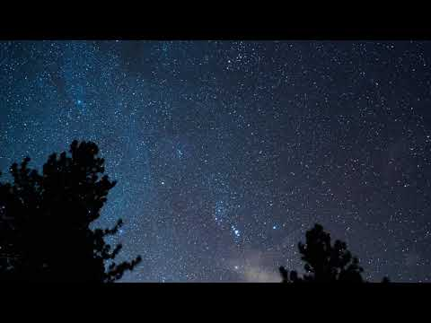 Orionid Meteor Shower Time-lapse 2017 (4k)