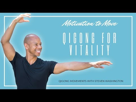 Qigong for Vitality (11 Minute Beginner Practice)