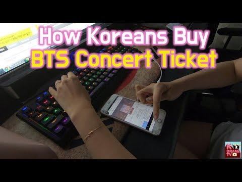 방탄소년단 콘서트 티케팅 도전!! | How Koreans Buy BTS Concert Ticket!