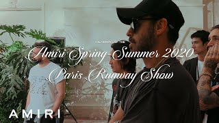 THE MAKING OF THE AMIRI SPRING-SUMMER 2020 PARIS RUNWAY SHOW