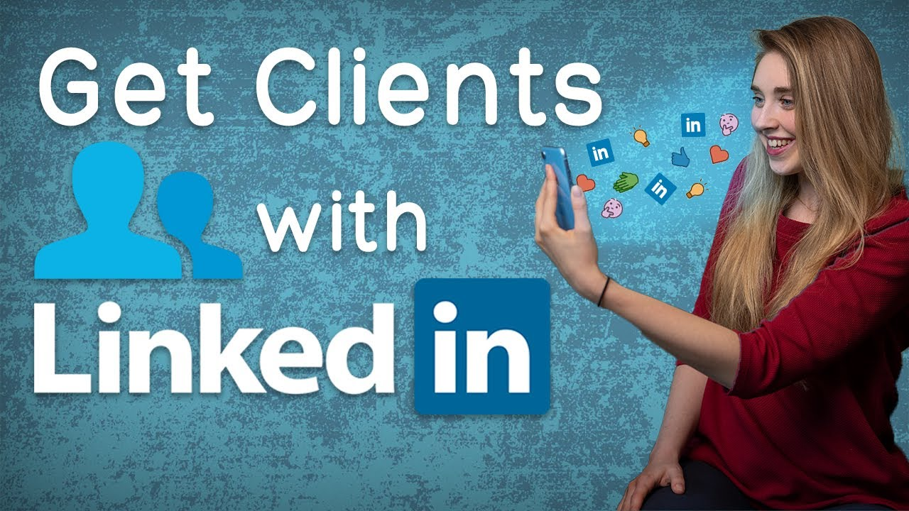 Get new clients with Linkedin!