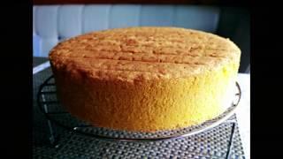 Ванильный бисквит - Рецепты от Лизы.