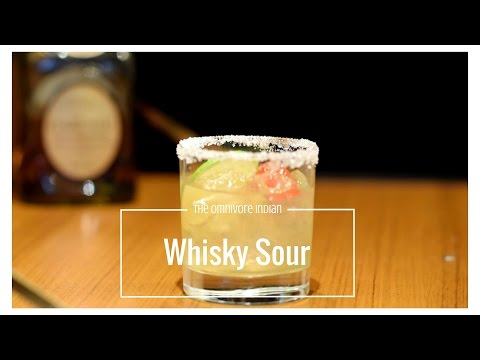 Strong Scotch Sour Cocktail for the Toughest Drinkers