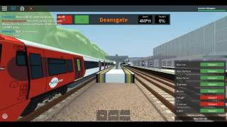 Roblox MTG Class 378 (MTG trains Livery) on Mainline Wellesley to Redloch via Wolfmill Part 2