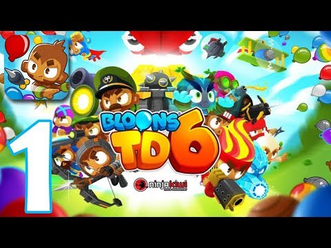 🥇 Bloons TD 6 | Gameplay Walkthrough Part 1 | Game iOS
