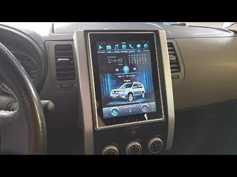 Магнитола в стиле Тесла для Nissan X-Trail T31