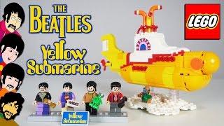 LEGO Желтая Подводная Лодка - Brickworm(Ссылка на набор - http://mir-kubikov.ru/lego/lego-ideas/zheltaya-podvodnaya-lodka-21306_1/ ✓Новые видео каждую неделю! Подписывайся - http://www.yo., 2016-11-30T11:11:01.000Z)