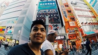 Renting bikes in Tokyo - Travel Vlog 1