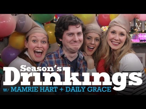 Holiday Hangout w/ Beth, DailyGrace, Mamrie Hart, & Okaynate! - 12/19/12