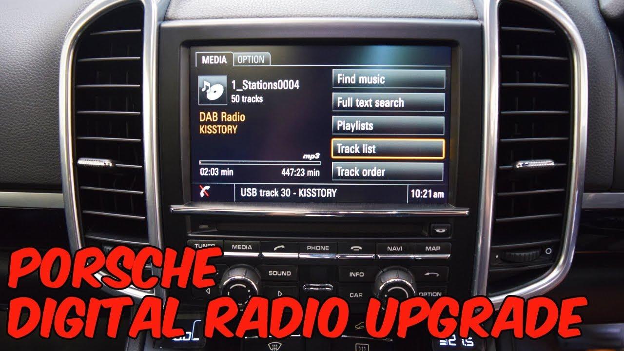 porsche cayenne 958 navigation update