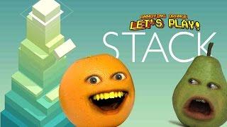 Annoying Orange Plays - Stack!