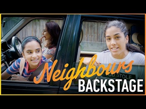 Neighbours Backstage - Meet The Sharma-Rebecchis