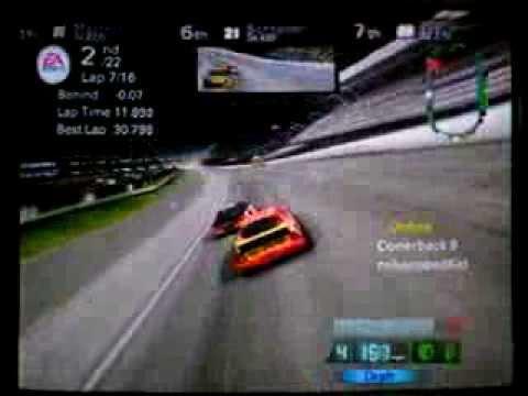 Nascar 08 Online At Lowes Motor Speedway Playstation 2